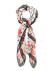 OT COORDINATED SCARF - OFFWHITE