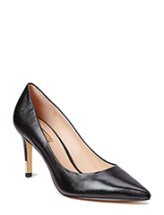 ELE3/DECOLLETE (PUMP)/LEATHER - BLACK