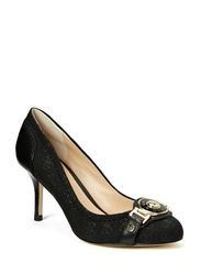 BRANDEE2/DECOLLETE (PUMP)/FABR - BLKBL