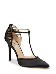 JAYNA2/DECOLLETE (PUMP)/SATIN - BLACK