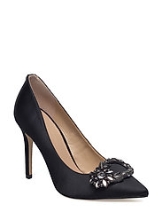 BREEZE/DECOLLETE (PUMP)/SATIN - BLACK