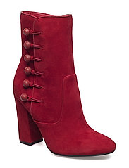 LUCENA/STIVALETTO (BOOTIE)/SUE - DARK RED