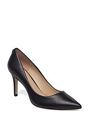 ELE7/DECOLLETE (PUMP)/LEATHER - BLACK