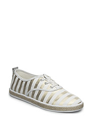 LINDSY/ACTIVE/FABRIC - WHITE GOLD