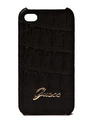 GUESS Matte Croco Hard Case