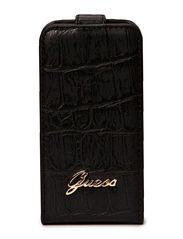 GUESS Matte Croco Flap Case