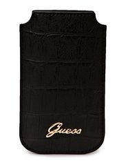 GUESS Matte Croco Phone Pouch