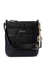 MIDTOWN MINI FLAT CROSSBODY - BLACK