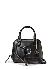 AMY SMALL DOME SATCHEL - BLA