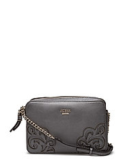 EVYN CROSSBODY TOP ZIP - PEWTER