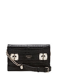 FRANKEE CROSSBODY CLUTCH - BLACK