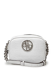 LUX CROSSBODY TOP ZIP - WHITE