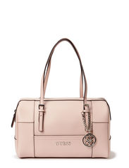 DELANEY BOX SATCHEL - LIGHT ROSE