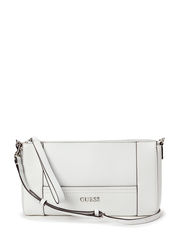 DELANEY CROSSBODY TOP ZIP - WHITE