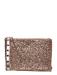 FALL IN LOVE CROSSBODY CLUTCH - ROSE GOLD