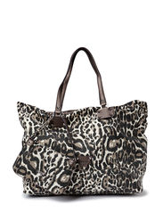 CHATEAU 81 LARGE TOTE - LEOPARD