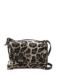 DEVYN MINI CROSSBODY FLAP - LEOPARD