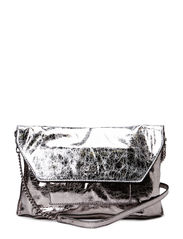 GLAMAZON CROSSBODY CLUTCH - PEWTER