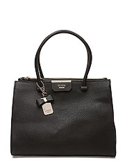 RYANN SOCIETY CARRYALL - BLACK