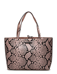OBBI INSIDE OUT TOTE - BLUSH PYTHON / RO