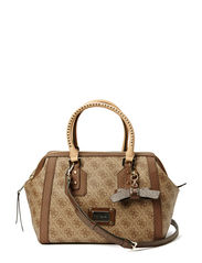 CHEATIN HEART FRAME SATCHEL - BRO
