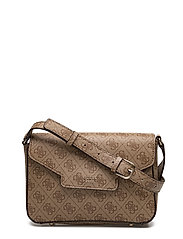 OLEEN CROSSBODY FLAP - BROWN