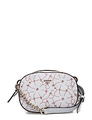 AYNE MINI CROSSBODY TOP ZIP - WHITE MULTI