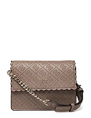 AYNA MINI CROSSBODY FLAP - TAUPE