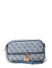 PARK LANE CROSSBODY CAMERA BAG - INDIGO