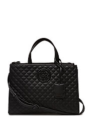 LUX STATUS SATCHEL - BLACK