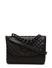 LUX CROSSBODY FLAP - BLACK