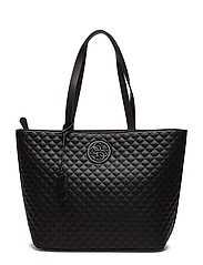 LUX LARGE TOTE - BLACK