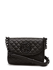LUX MINI CROSSBODY FLAP - BLACK