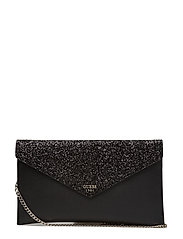 VER AFTER ENVELOPE CLUTCH - BLACK