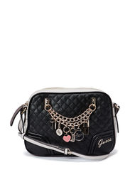 RAKELLE CROSSBODY TOP ZIP - BLACK MULTI