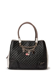 RAKELLE GIRLFRIEND SATCHEL - BLACK MULTI