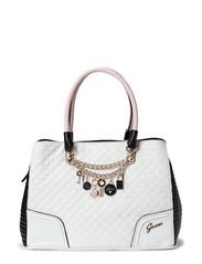 RAKELLE GIRLFRIEND SATCHEL - WHITE MULTI
