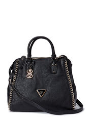 ASHBURY RETRO SATCHEL - BLACK