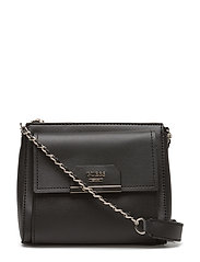 RYANN MINI CROSSBODY TOP ZIP - BLACK