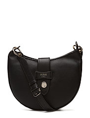 SHANE CROSSBODY HOBO - BLACK