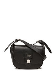 SHANE MINI CROSSBODY FLAP - BLACK