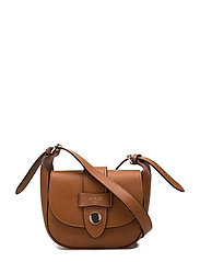 SHANE MINI CROSSBODY FLAP - COGNAC