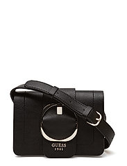 MOONEY MINI CROSSBODY FLAP - BLACK