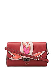 JADEN CROSSBODY FLAP - LIPSTICK MULTI