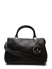 DEN GIRLFRIEND SATCHEL - BLACK