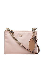 OU LOU MINI CROSSBODY TOP ZIP - ROSE MULTI