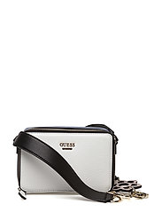 ANIA MINI CROSSBODY TOP ZIP - WHITE MULTI