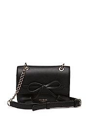 EILA MINI CROSSBODY FLAP - BLACK