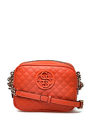 LUX CROSSBODY TOP ZIP - ORANGE
