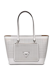 AUDREY 2 IN 1 TOTE - WHITE